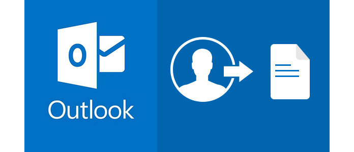 Exportar los contactos de Outlook